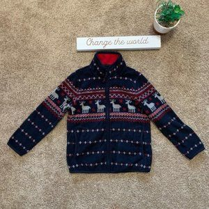 Uniqlo Pattern Zip Up Jacket